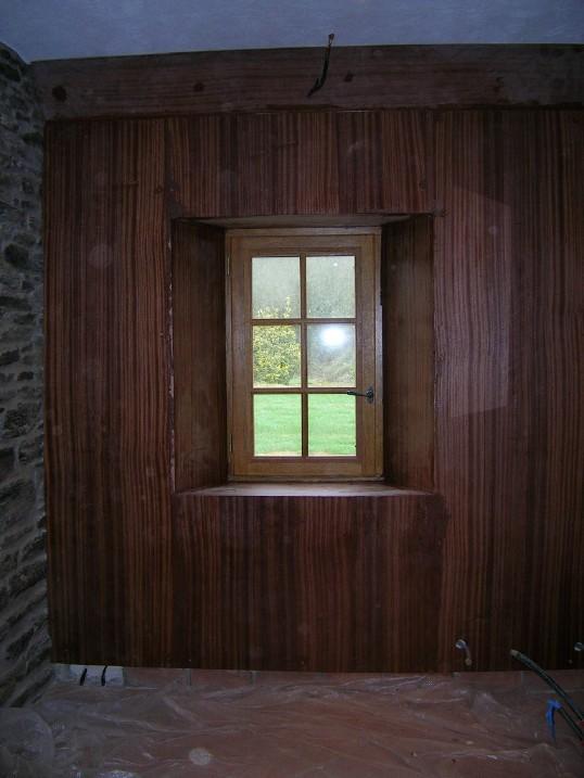 fenetre salle de bain vis a vis de ctp marine avec un placage en acajou de 3mm - Fenetre Salle De Bain Vis A Vis