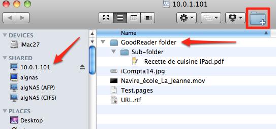 iPad GoodReader